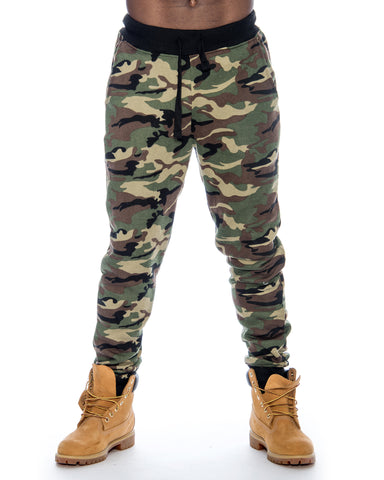 Men'S Camo Fleece Jogger
