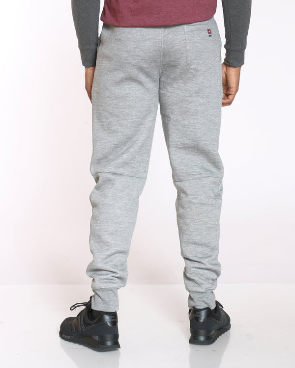 Men's Ryan Fleece Moto Jogger - Heather Grey