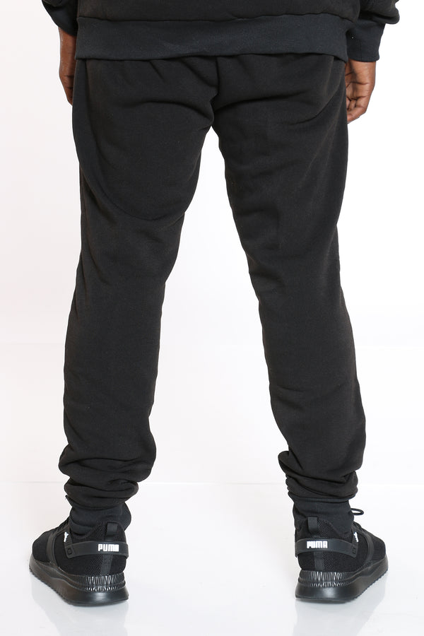 Men's Moto Fleece Jogger - Black