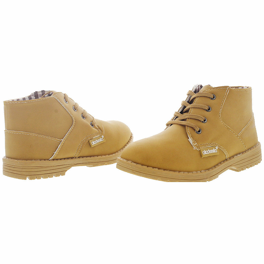 Akademiks - Terry 01 Mid Chukka Boot (Little Kid) - Wheat - V.I.M. - 3