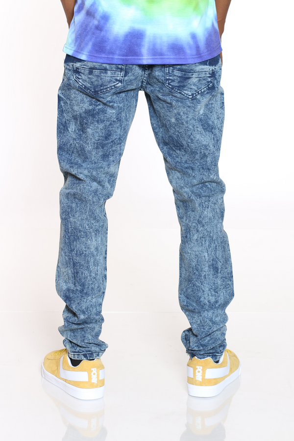 Men's Cloud 5 Pocket Stretch Jean - Blue