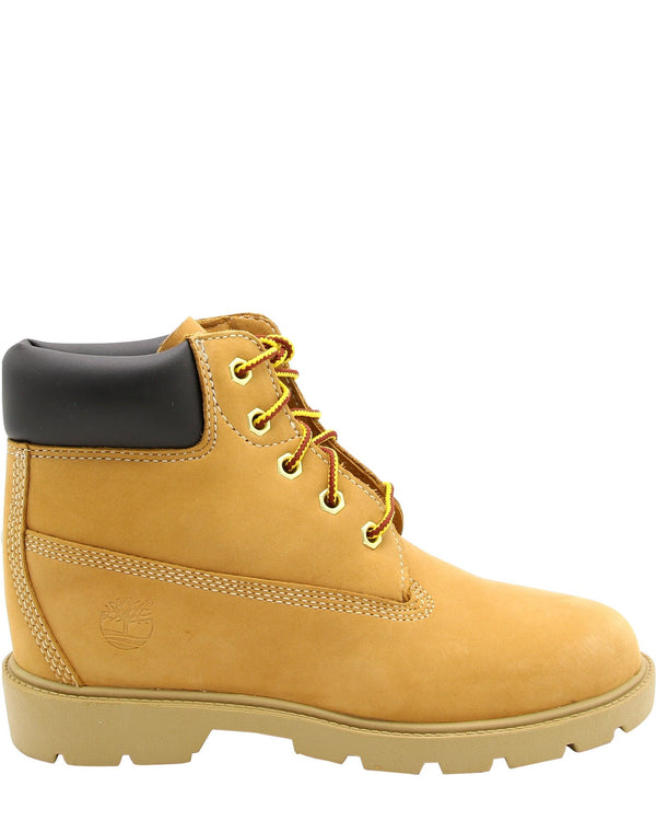 TIMBERLAND-Classic 6-Inch Waterproof Boots (Pre School) - Wheat-VIM.COM