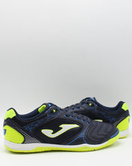 JOMA Men'S Dribling 903 Marino Indoor Soccer Shoe - Navy Green - Vim.com