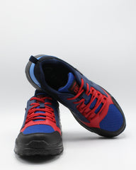 PARISH NATION Men'S Lace Up Multi Mesh Sneaker - Blue - Vim.com