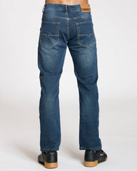 VIM Stretch Embroidery Pocket Jeans - Dark Blue - Vim.com