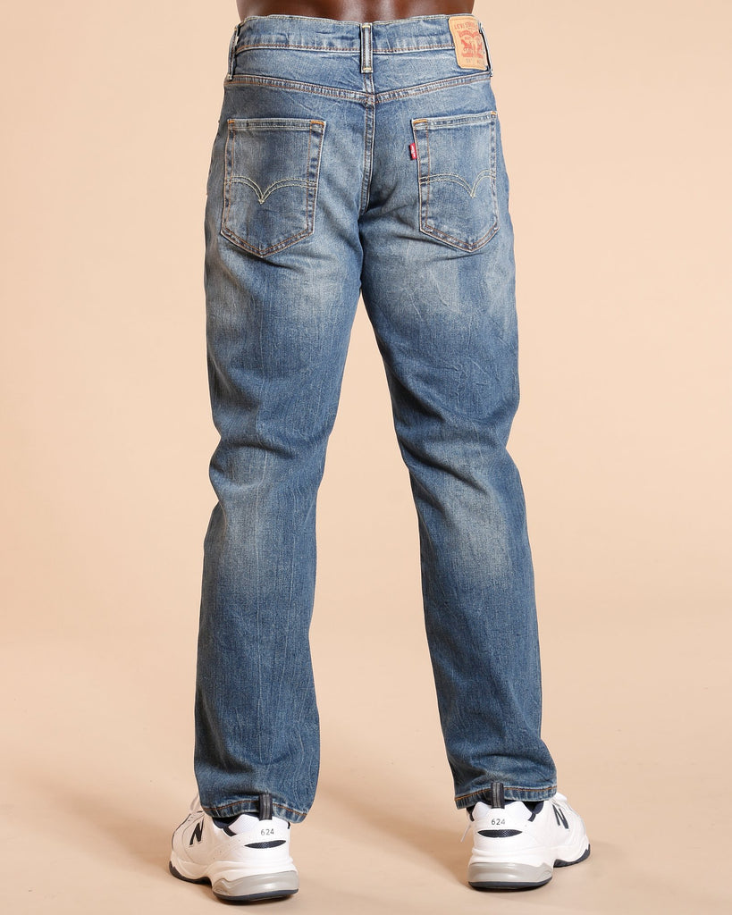 LEVI'S 514 Ship Yard Straight Jeans - Blue - Vim.com
