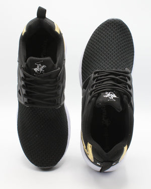 BEVERLY HILLS POLO CLUB Men'S Charisma Sneaker - Black - Vim.com