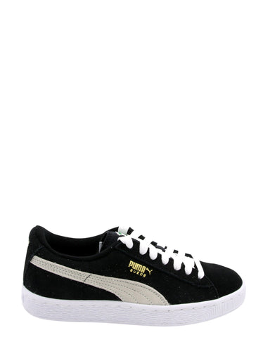 PUMA-Suede Jr Classic Low Top Sneakers (Grade School) - Black-VIM.COM