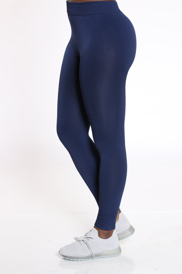 Women's Fleece Lined Legging - Navy
