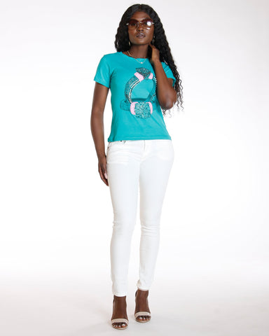 DESTINY APPAREL Must Have Classic Stretch Twill Pant - White - ShopVimVixen.com