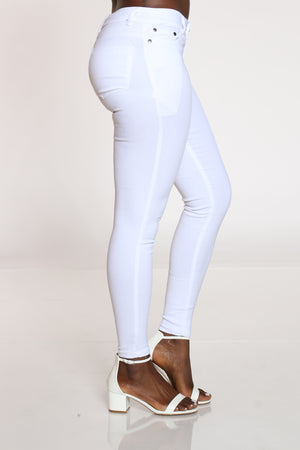 Women's Hyperstretch Skinny Pant - White