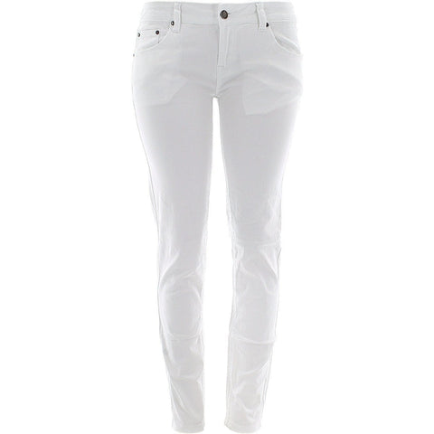 Ankor East - Women's Skinny Stretch Jeans - White