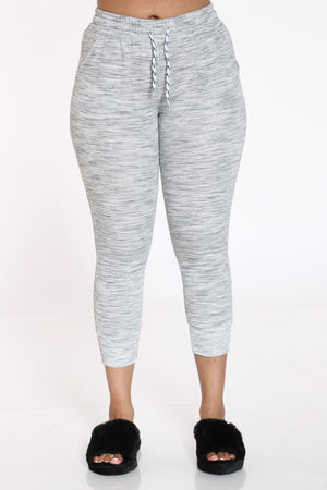 Women's Marled Jogger - Heather Grey-VIM.COM