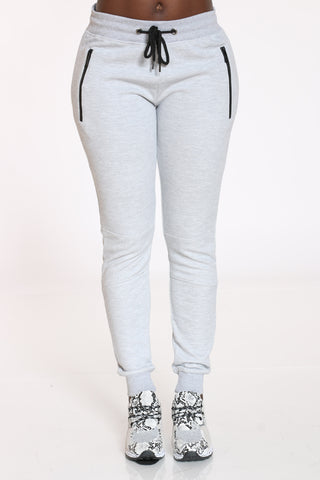 Women's Tech Fleece Jogger - Grey-VIM.COM