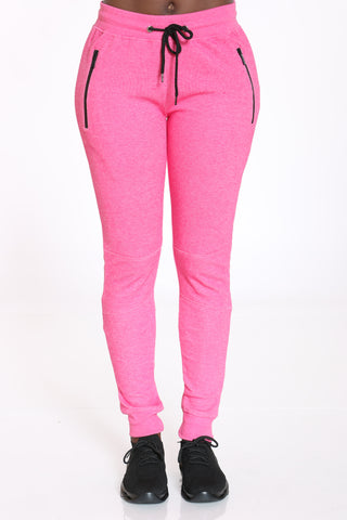 Women's Tech Fleece Jogger - Pink-VIM.COM