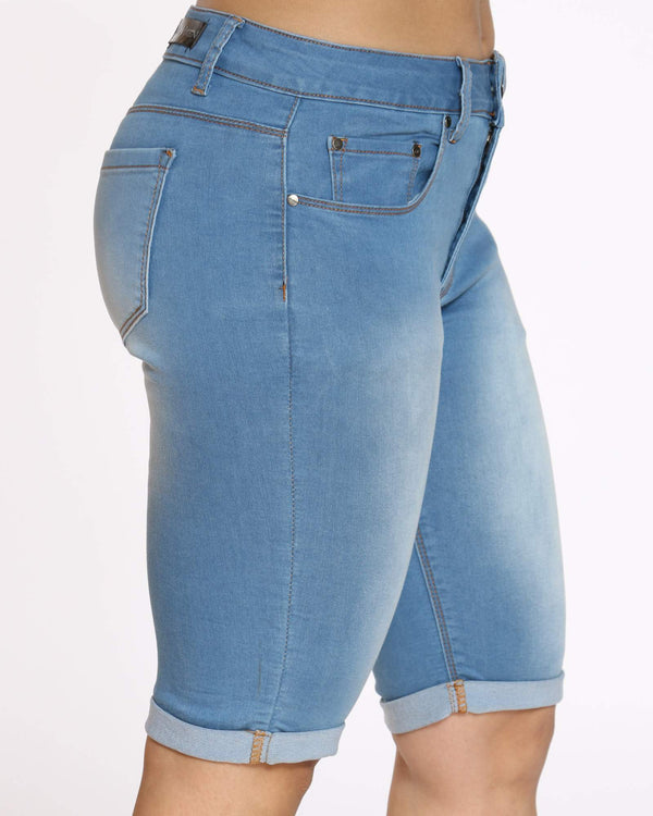 Women's Denim Short - Medium Indigo