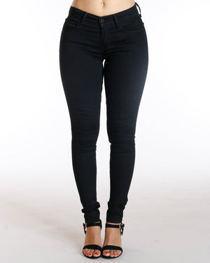 LEVI'S 710 Super Skinny Secluded Echo Jean - Black - ShopVimVixen.com
