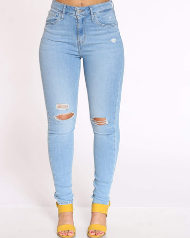 Women's 721 Azure Glow High Rise Jean - Blue