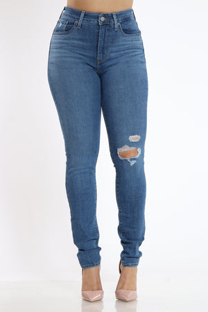 Women's 721 High Rise Skinny Fit Jean - Blue