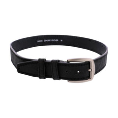 VIM Buckle Stitched Belt - Black - Vim.com
