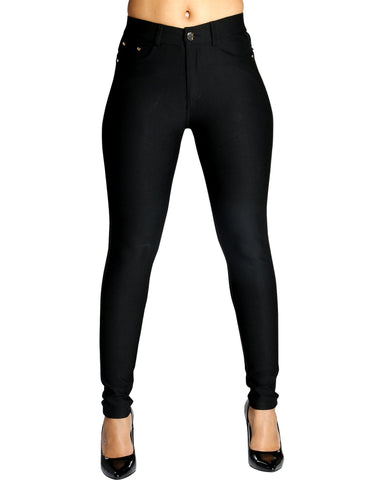 VIM VIXEN Pop It Ponte Pants - Black - ShopVimVixen.com