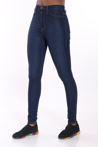 Hot Shot Classic Jean - Dark Blue-VIM.COM