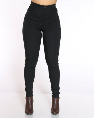 Women's Nyla Stretch High Waist Jean - Black