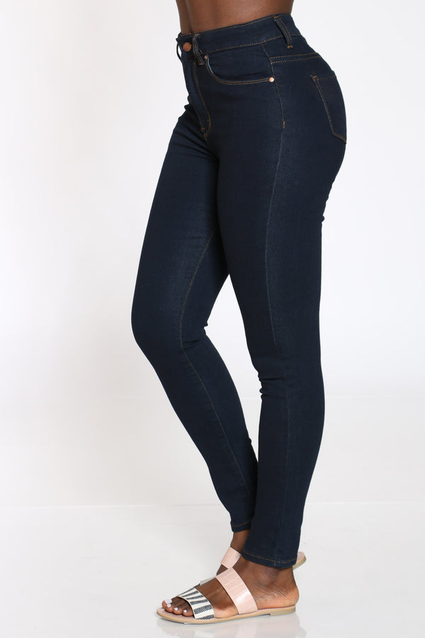 Women's Highwaist Skinny Jean - Black