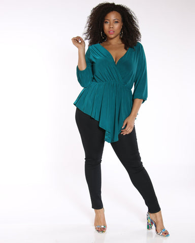VIM VIXEN Kiarra 5 Pocket Stretch Jean - Black - ShopVimVixen.com
