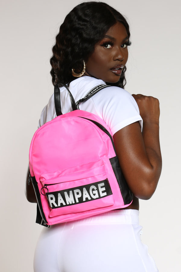 Women's Rampage Mini Nylon Backpack - Pink