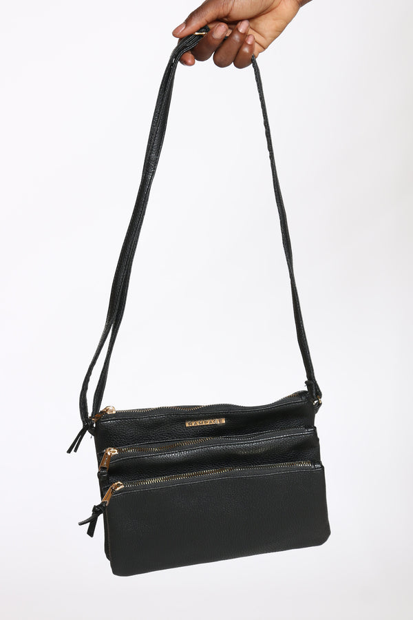 Women's Rampage Cross Bag - Black