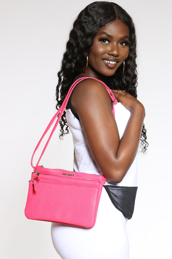 Women's Rampage Cross Bag - Pink-VIM.COM
