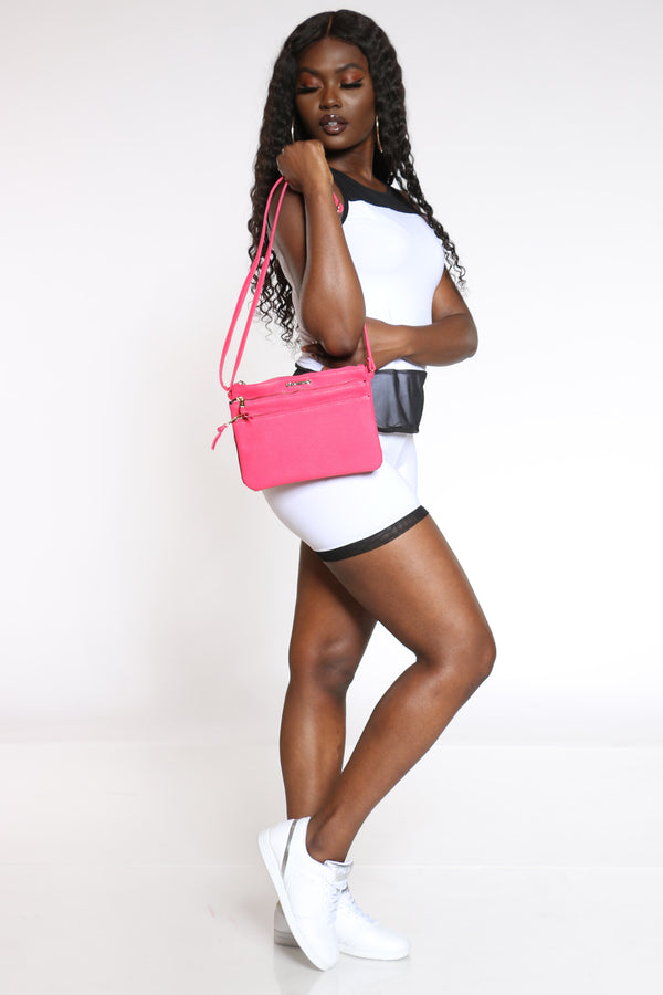 Women's Rampage Cross Bag - Pink