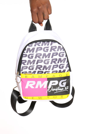 Women's Rampage Mini Back Pack - White-VIM.COM
