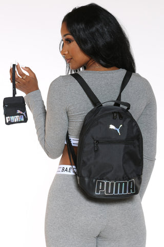 Women's Mini Backpack - Black