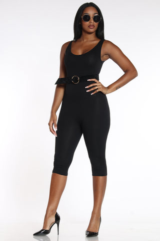 Suit Up Jumpsuit - Black-VIM.COM