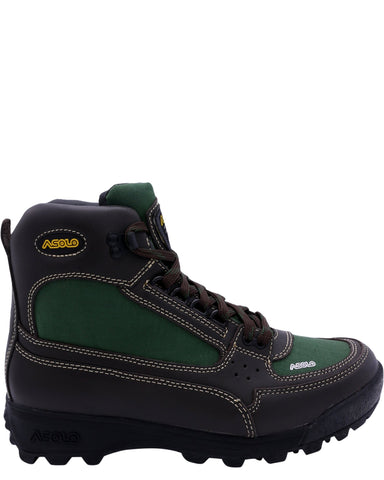 ASOLO-Boys Skyrise Hiker Boot (Grade School) - Brown Green-VIM.COM