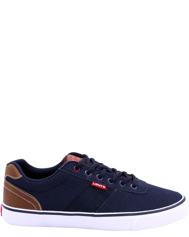 LEVI'S-Men's Miles Preference Nb Sneakers - Navy-VIM.COM