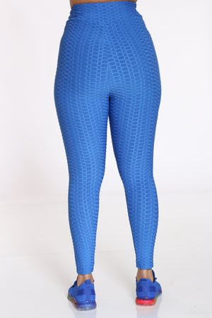 Women's Rouched Active Legging - Royal