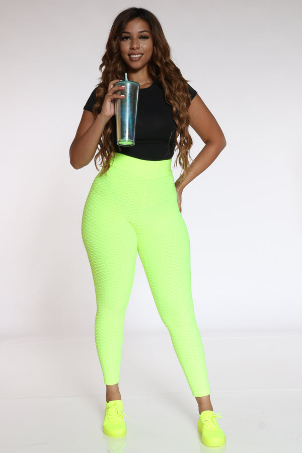 Women's Rouched Active Legging - Green