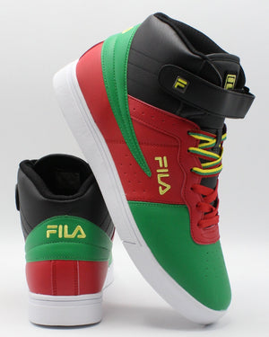 FILA-Men's Vulc 13 Mp Bc Sneaker - Black Red Green-VIM.COM
