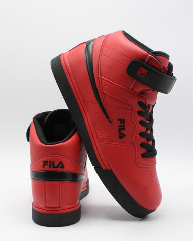 FILA-Vulc 13 Mp Sneaker (Grade School) - Red-VIM.COM