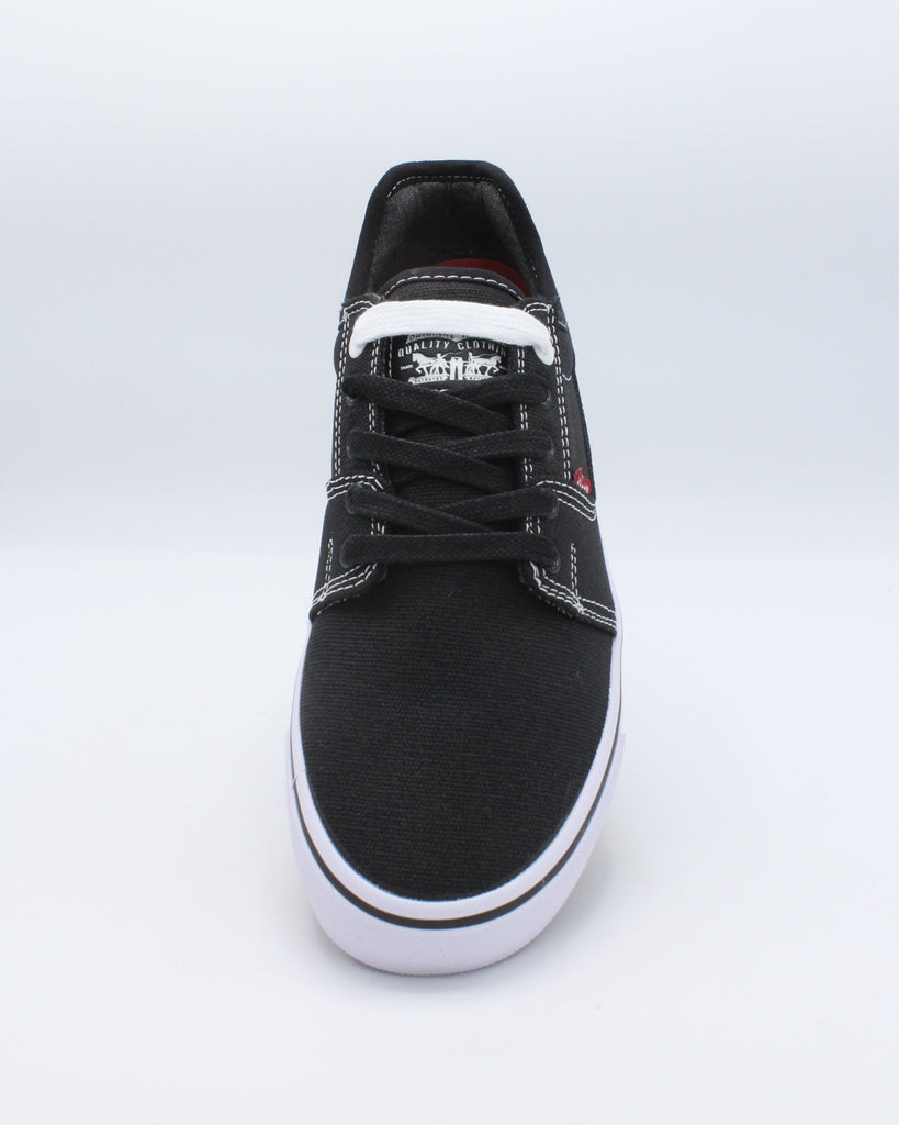 LEVI'S Men'S Kaiden Canvas Sneaker - Black - Vim.com