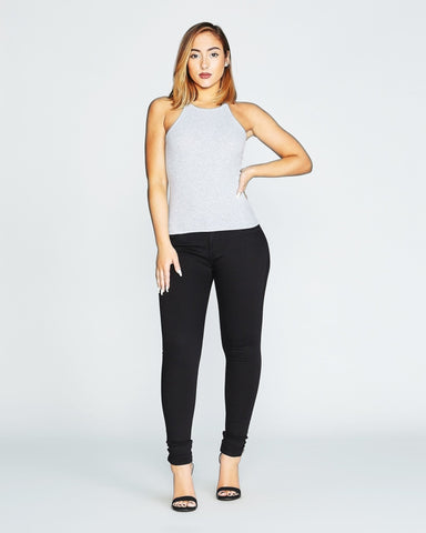 LEVI'S-Women's Junior'S 535 Legging Jeans - Black-VIM.COM