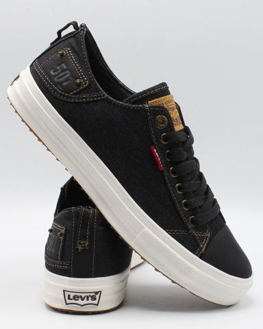 LEVI'S-Men's Neil Low 501 Denim Sneaker - Black-VIM.COM
