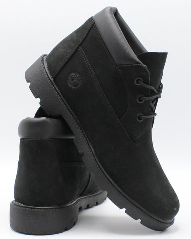 TIMBERLAND-Three Eye Chukka Boot (Grade School) - Black-VIM.COM