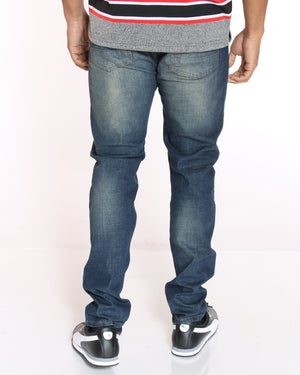 VIM Blasting Light Ripped Jean - Blue Tint - Vim.com