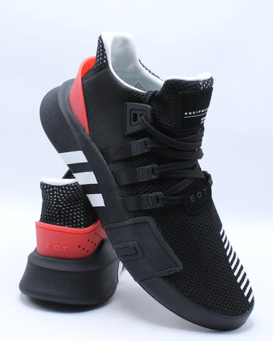 Men's Eqt Bask Adv Sneaker - Black Red