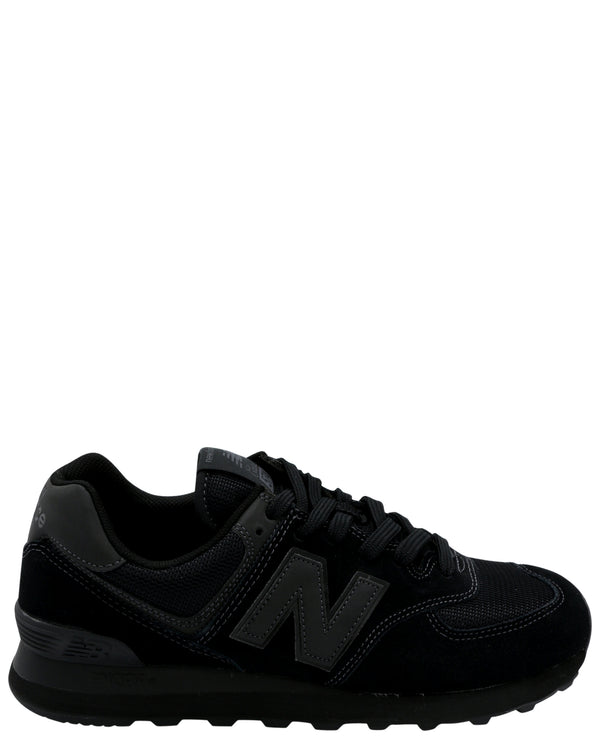 NEW BALANCE-Men's 574 Core Sneaker - Black-VIM.COM