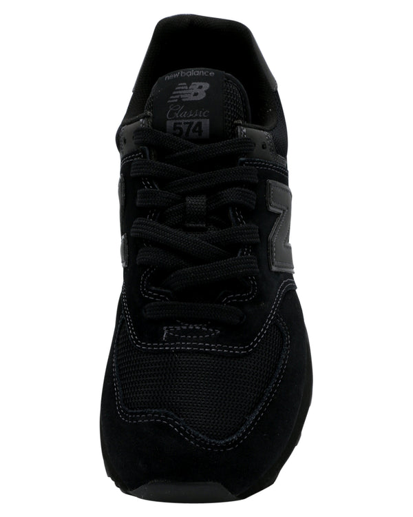 NEW BALANCE Men'S 574 Core Sneaker - Black - Vim.com